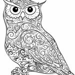 Free Difficult Animals Coloring Pages for Grown Ups   fdf3