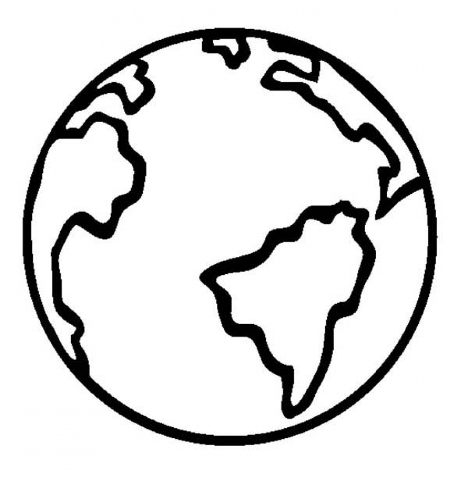 Get This Free Earth Coloring Pages to Print v5qom