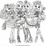 Free Ever After High Coloring Pages   07599