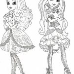 Free Ever After High Coloring Pages to Print   84785