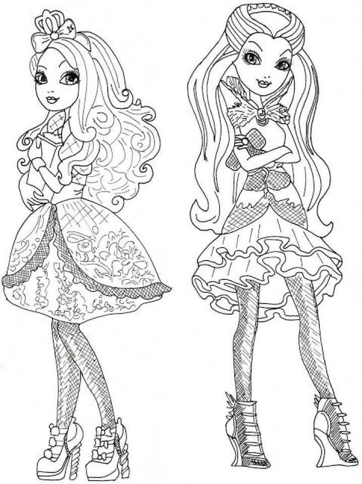 ever after high free printable coloring pages - get this free ever after high coloring pages to print 84785