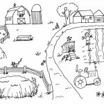 Free Farm Coloring Pages   9UWMI