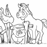 Free Farm Coloring Pages   CIVXM