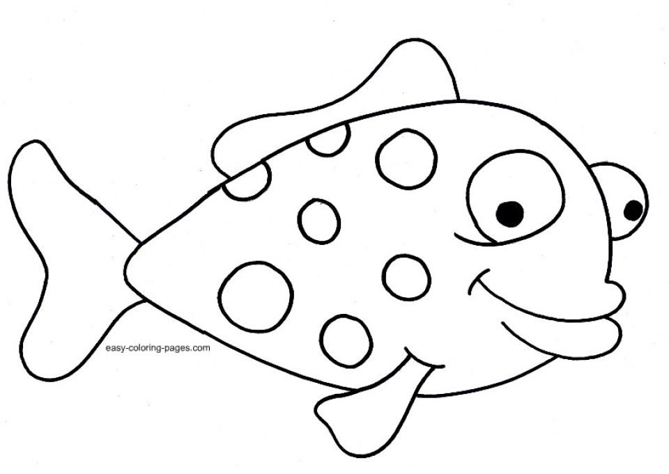 Free Fish Coloring Pages to Print   415122