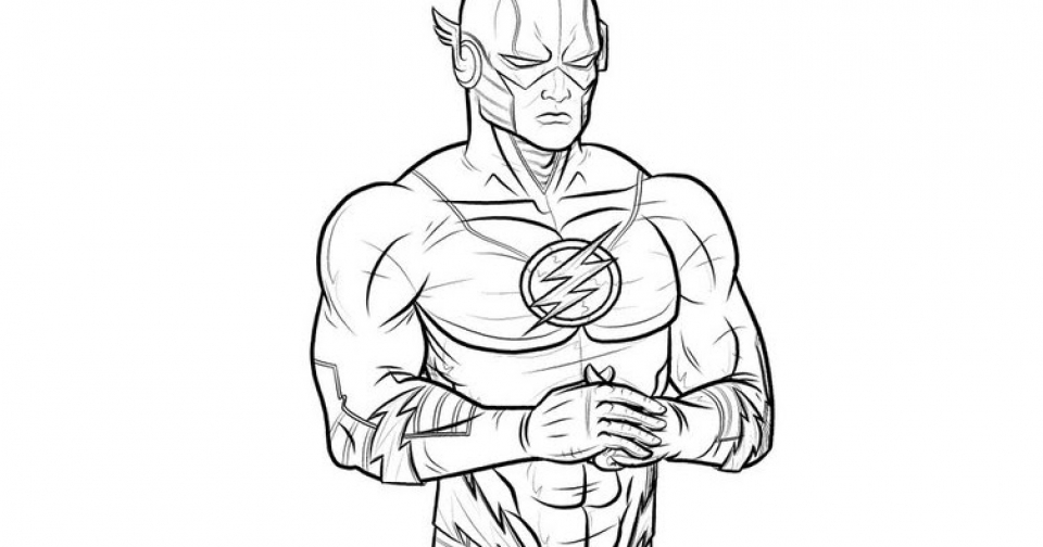 Free Flash Coloring Pages to Print   rk86j