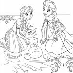 Free Frozen Coloring Pages   706112