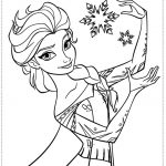 Free Frozen Coloring Pages to Print   105387