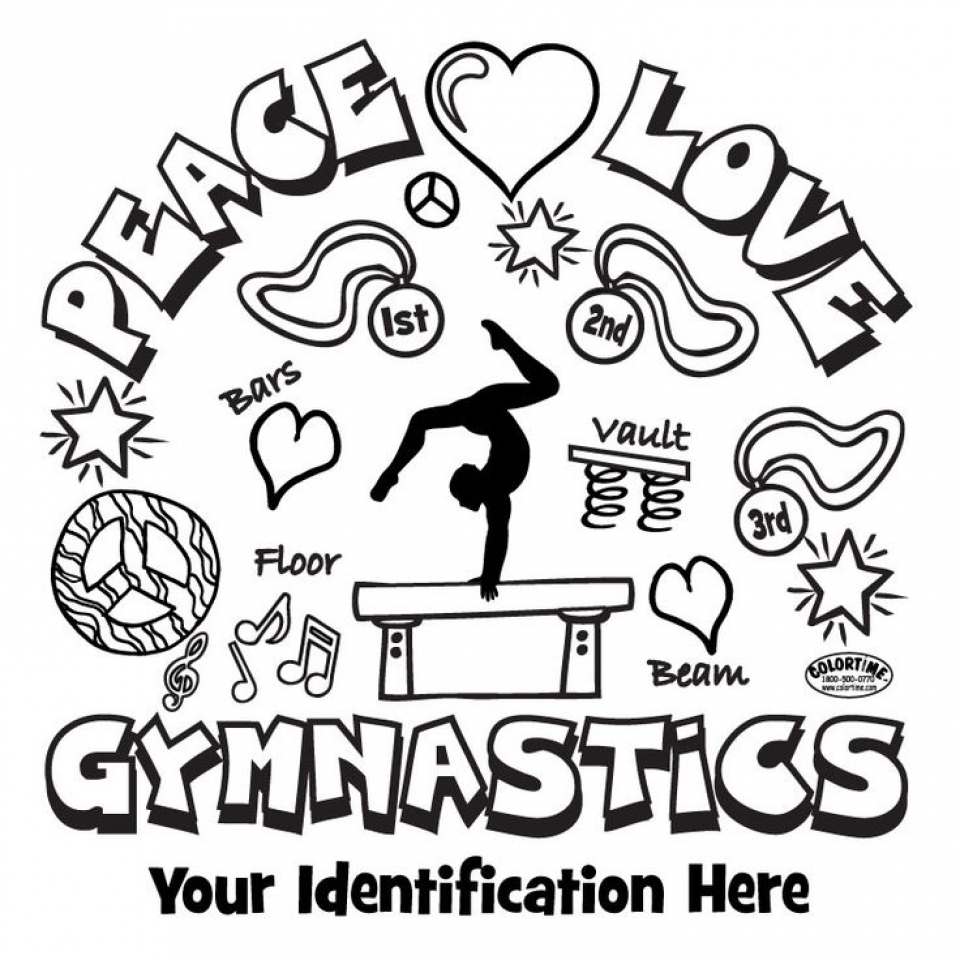 Free Gymnastics Coloring Pages   2srxq