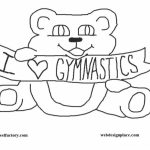 Free Gymnastics Coloring Pages   t29m8
