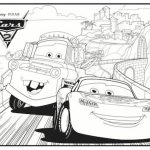 Free Lightning McQueen Coloring Pages   467395