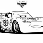 Free Lightning McQueen Coloring Pages   706106