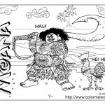 Free Moana Coloring Pages to Print   77SA9