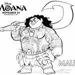 Free Moana Coloring Pages to Print   TF22B