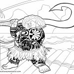 Free Moana Coloring Pages to Print   TZ84Y
