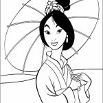 Free Mulan Coloring Pages   72ii6