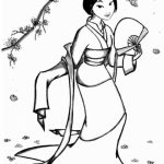 Free Mulan Coloring Pages to Print   v5qom