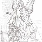 Free Printable Angel Coloring Pages for Adults   34C78