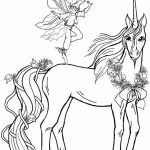 Free Printable Unicorn Coloring Pages for Adults   KA091