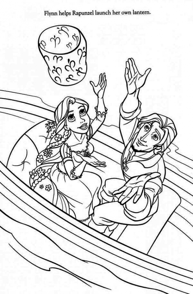 Coloring Pages For Rapunzel : Get this free rapunzel coloring pages to print disney princess f7v93 !