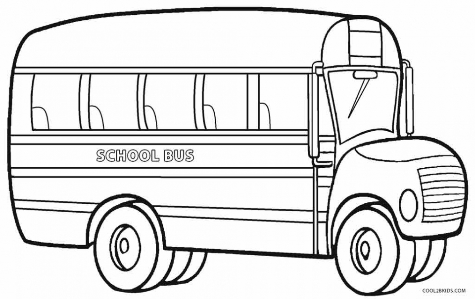 Free School Bus Coloring Pages   9tf1q