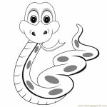 Free Snake Coloring Pages to Print   62617