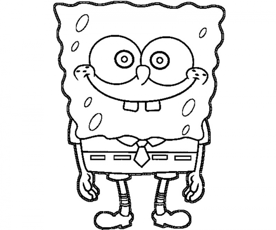 Free Spongebob Squarepants Coloring Pages to Print   v5qom