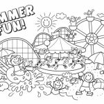 Free Summer Coloring Pages to Print   194514