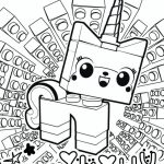 Free The Lego Movie Coloring Pages to Print   105380
