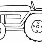 Free Tractor Coloring Pages   20627