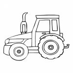 Free Tractor Coloring Pages to Print   84785