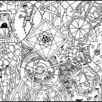 Free Trippy Coloring Pages to Print for Adults   pk2v4