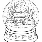 Free Winter Coloring Pages to Print   105376