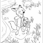 Free Zootopia Coloring Pages to Print   415124