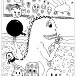 Fun Doodle Art Adult Coloring Pages Printable   82CL4