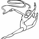 Gymnastics Coloring Pages Free Printable   q8ix4