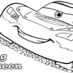 Lightning McQueen Coloring Pages Free Printable   107438