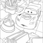 Lightning McQueen Coloring Pages Free Printable   434411