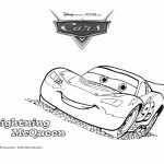 Lightning McQueen Coloring Pages Free Printable   606707