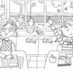 Online American Girl Coloring Pages   a9m0j