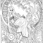 Online Art Deco Patterns Coloring Pages for Adults   gfd57