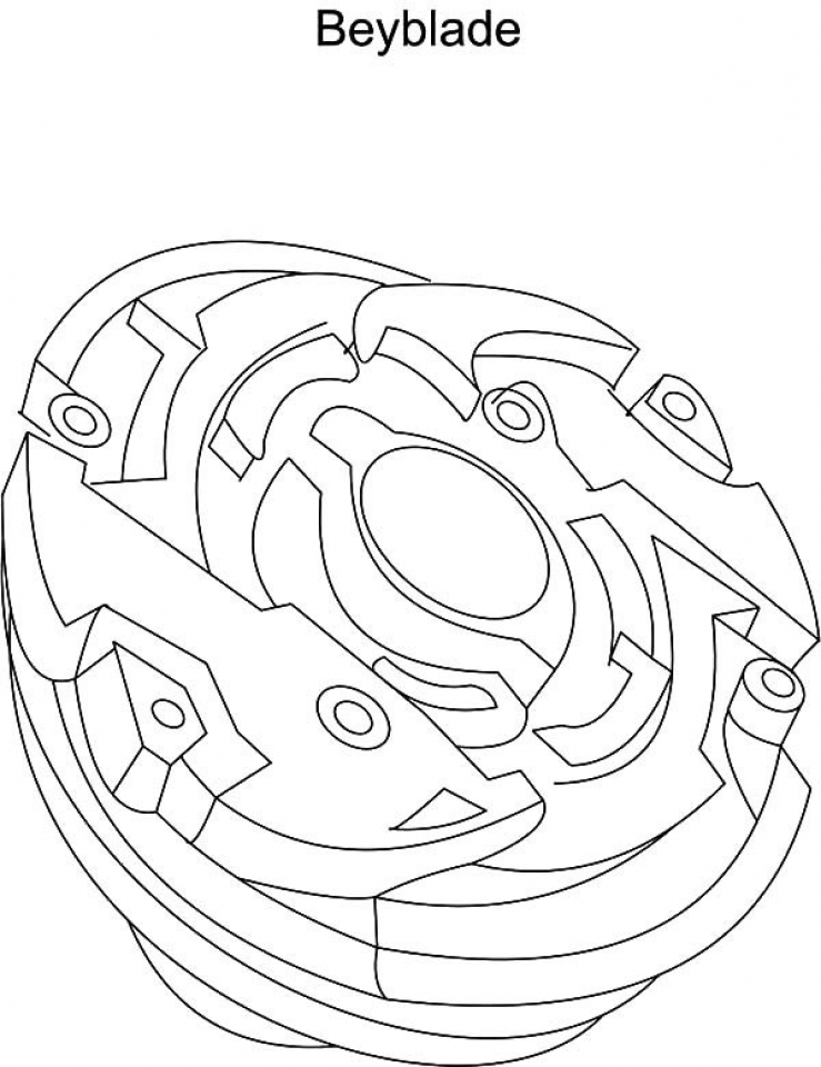 Online Beyblade Coloring Pages   50959