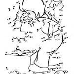 Online Christmas Dot to Dot Coloring Pages   539BT