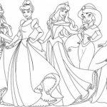 Online Disney Princess Coloring Pages   358885