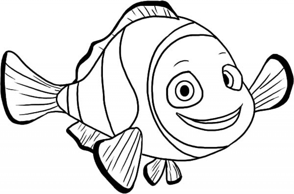 online fish coloring pages - photo#1