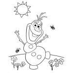Online Frozen Coloring Pages   476869