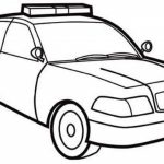 Online Police Car Coloring Pages   10437