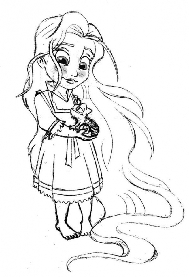 Get This Online Rapunzel Coloring