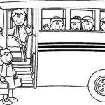 Online School Bus Coloring Pages   6q191