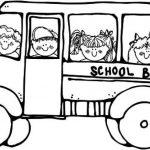 Online School Bus Coloring Pages   a9m0j