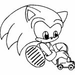 Online Sonic Coloring Pages   289275